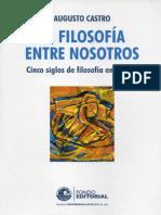 LA FILOSOFÍA ENTRE NOSOTROS CINCO SIGLOS DE FILOSOFÍA EN EL PERÚ