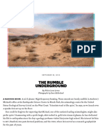 The Rumble Underground — the California Sunday Magazine