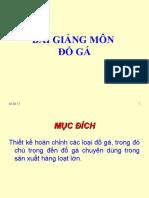 Giao Trinh Do Ga