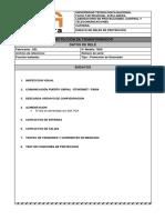 Protocolo de Ensayos SEL 700G