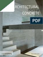 Architectural Concrete Part 1