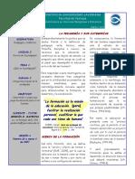 3 - La Pedagogía y Sus Categorías