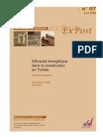 Efficacité énergétique dans la construction en Tunisie.pdf