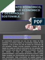 CRECIMIENTO ECONOMICO, DESARROLLO ECONOMICO Y DESARROLLO SOSTENIBLE.pptx