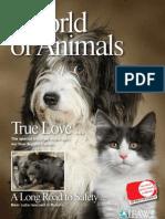 "IFAW ""World of Animals"" Magazine vol. 1 issue 4"