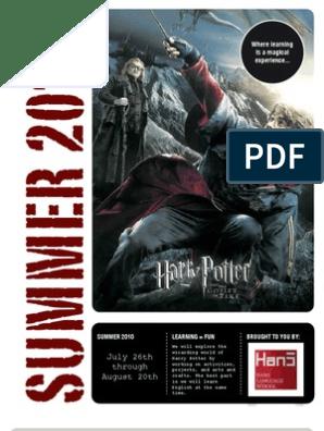 Harry Potter ESL Workbook  | Harry Potter Universe