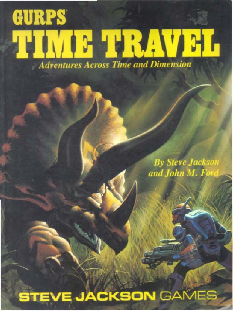 GURPS - Time Travel | Parallel Universe (Fiction) | Time Travel