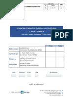 Procedimiento para Resane Exterior Tubería y Estructura