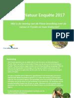 Friese Natuur Enquete 2017