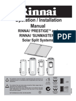 Rinnai Splitsystem Manual