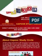 NIOS Admission 2017 for Class 10th or 12th in NIOS Delhi Board