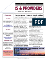 Payers & Providers – Issue of July 22, 2010