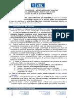 Edital 02 - Processo Seletivo IEL Nº 01 2017 MPE To