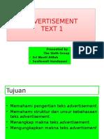 Advertisement Text 1