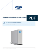 User Manual Lacie d2 Thunderbolt 2 Usb 3.0