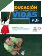 Cambiar Vidas Educacion Unesco