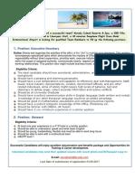 Job Vacancies-Executive Secretary
