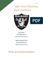 band handbook