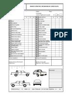 Formato Check List Camionetas