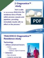 Tracerco Diagnostics Residence Study