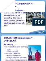Tracerco Diagnostics Leak Study
