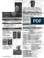 Manual Cargador De pilas AA AAA y Cuadrada 9V Steren 903-210