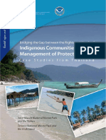Bridging the Gap between the Rights and Needs of Indigenous Communities and the  Management of Protected Areas