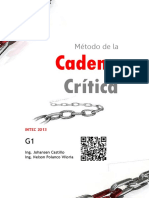 Cadena Critica. DERBY