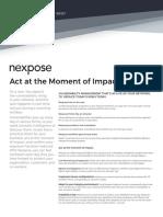 Rapid7 Nexpose Product Brief