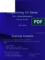 Perl 02 - String Manipulation - Exercise Answers