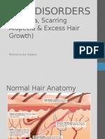 2.Hair Disorders