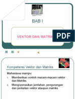 Matriks Dan Vektor