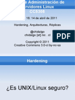 Clase 16 Hardening y R Plicas