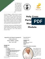 Module Booklet Type
