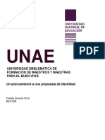 Lectura 1A - Álvarez, Freddy UNAE - Propuesta de Identidad
