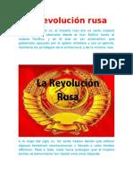 La Revolución Rusa