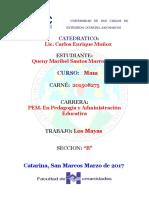 Queny Santos Los Mayas