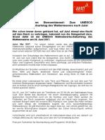 +++ Pressemeldung Juist _Schlafen unterm Sternenhimmel - Zum UNESCO Welterbe-Geburtstag des Wattenmeers nach Juist _Mai 2017 +++