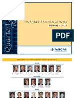 MNCAR Notable Transactions Q2
