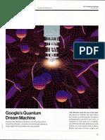 Googles Quantum Dream Machine