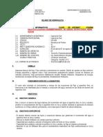 Silabo Hidraulica 2014-I