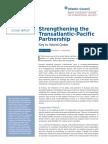 Strengthening the Transatlantic-Pacific Partnership
