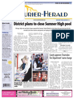 Sumner Pool Closing (Courier-Herald 2-1-17)