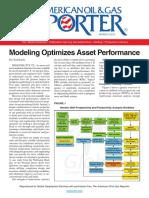 modeling optimizes asset performance