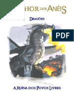 O Senhor Dos Anéis RPG - Dragões - A Ruína Dos Povos Livres