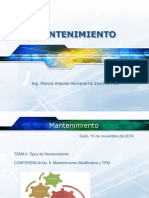 TEMA 6 Mantenimiento Modificativo y TPM
