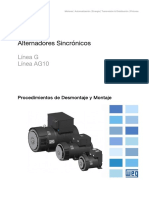WEG Alternadores Sincronicos Linea g Plus 50031315 Catalogo Espanol