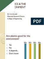 Plastics & the Environment