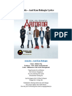 Armada – Asal Kau Bahagia Lyrics