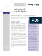 Secure FTP from Ipswitch - Addressing the Need for Secure File Transfer white paper